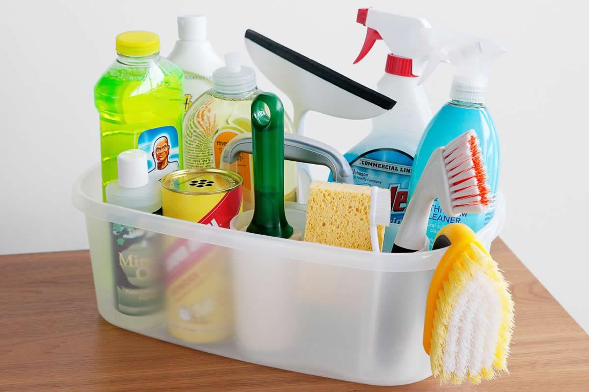 Five Apartment Cleaning Tasks to Tackle When You're Stuck at Home